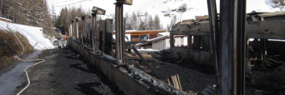 Großbrand Nagler Holzbau