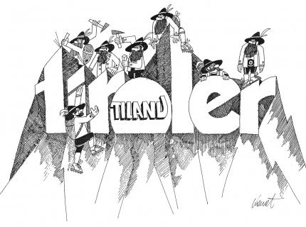 Neues Logo der TIROLER 1998
